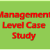 Management level Case study Exam (MCS) Resources