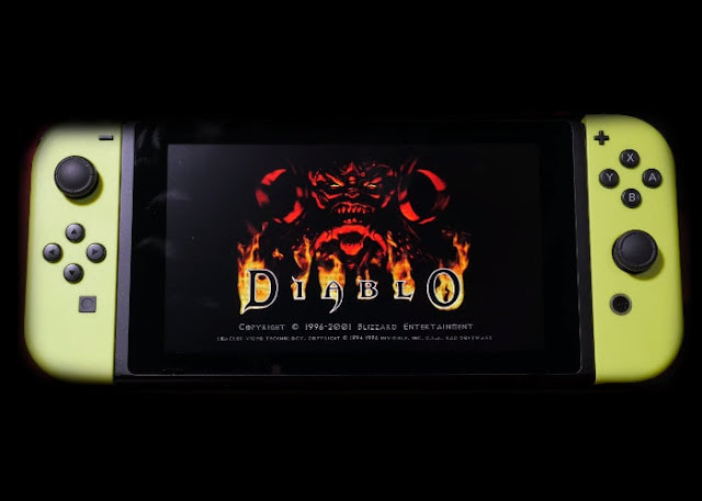 Diablo unofficial Nintendo Switch port now available