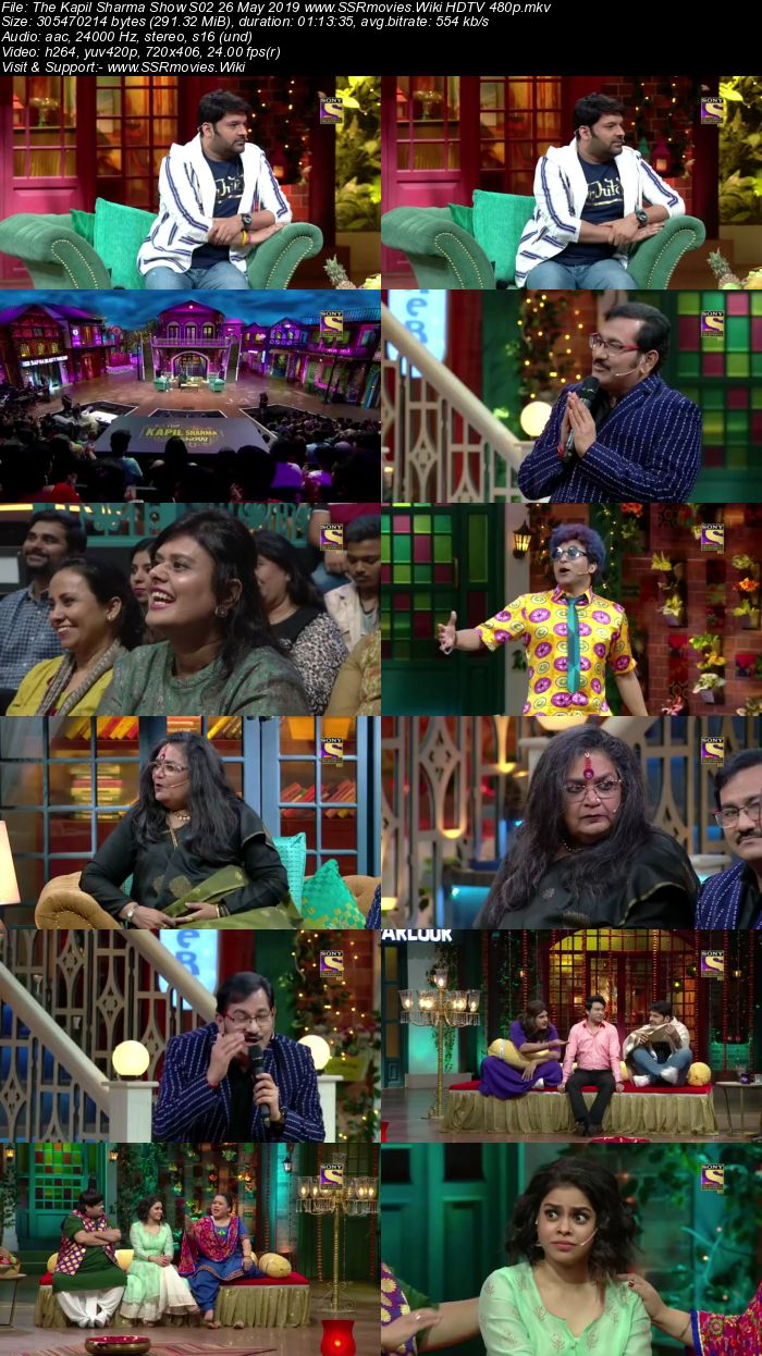The Kapil Sharma Show S02 26 May 2019 Full Show Download HDTV HDRip 480p