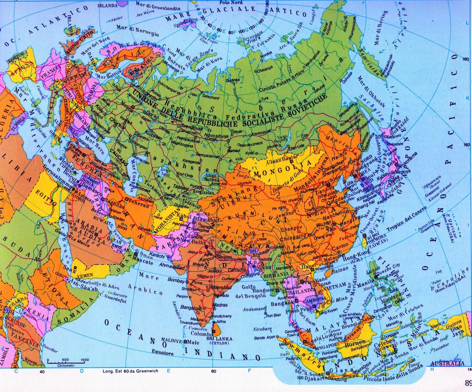 Cartina Urss.Vp Italia Orizzonti Dell Ex Unione Sovietica 06 04 2012