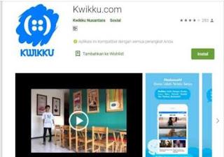 Aplikasi Media Sosial Kwikku