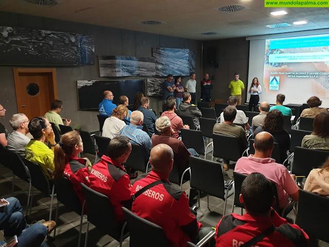 El Cabildo de La Palma analiza los protocolos para atender emergencias en pozos y galerías