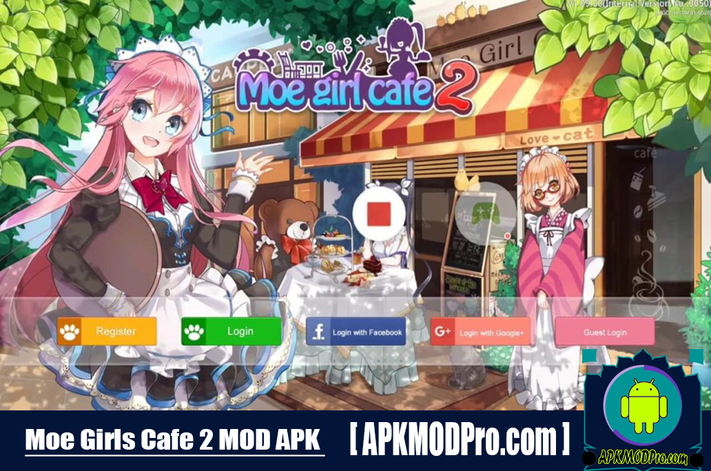 Download Moe Girl Cafe 2 MOD APK 1.33.63 (MOD Money/Diamonds) For Android
