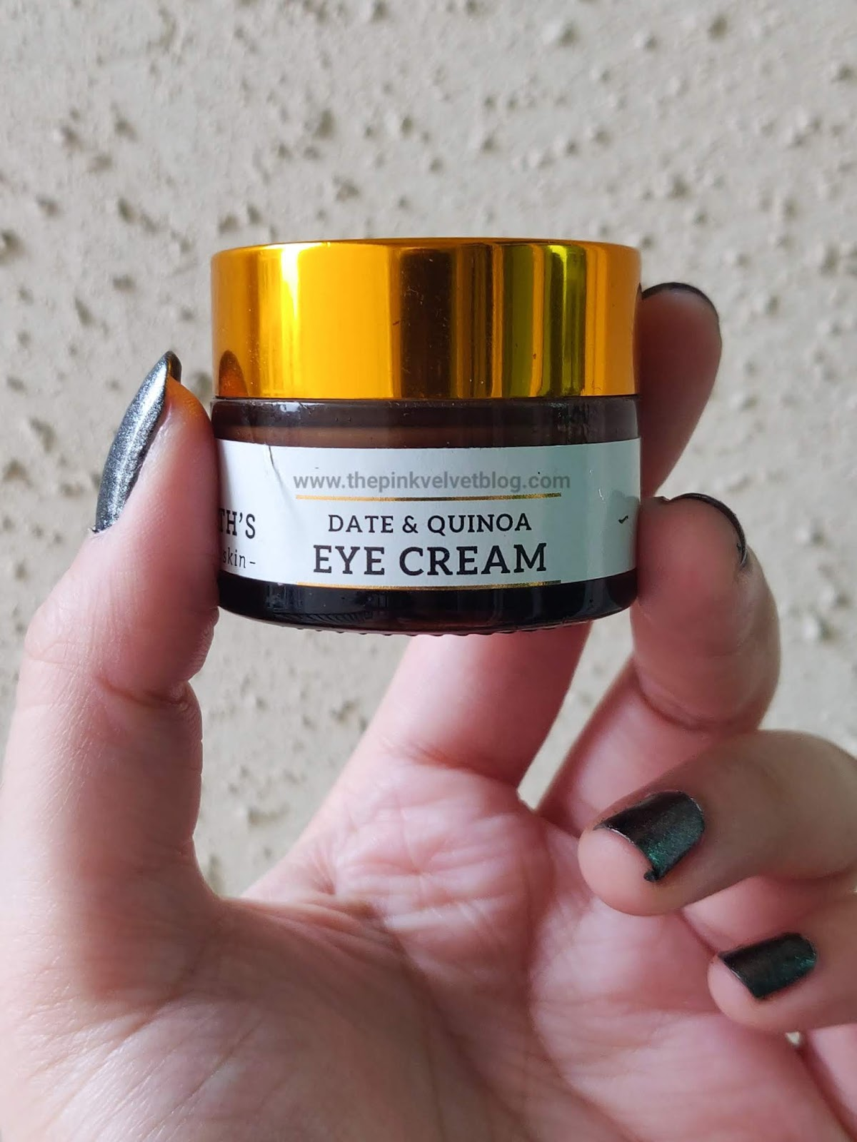 Dr.Sheth's Date and Quinoa Eye Cream - Review