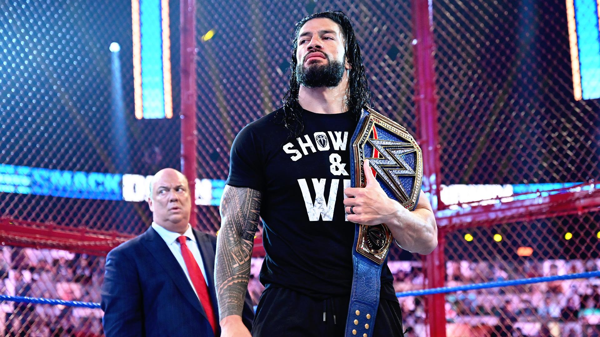 Roman Reigns vs. Jey Uso abrirá o WWE Hell in a Cell