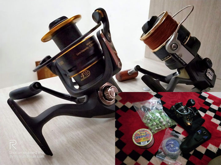 Shopping peralatan memancing online