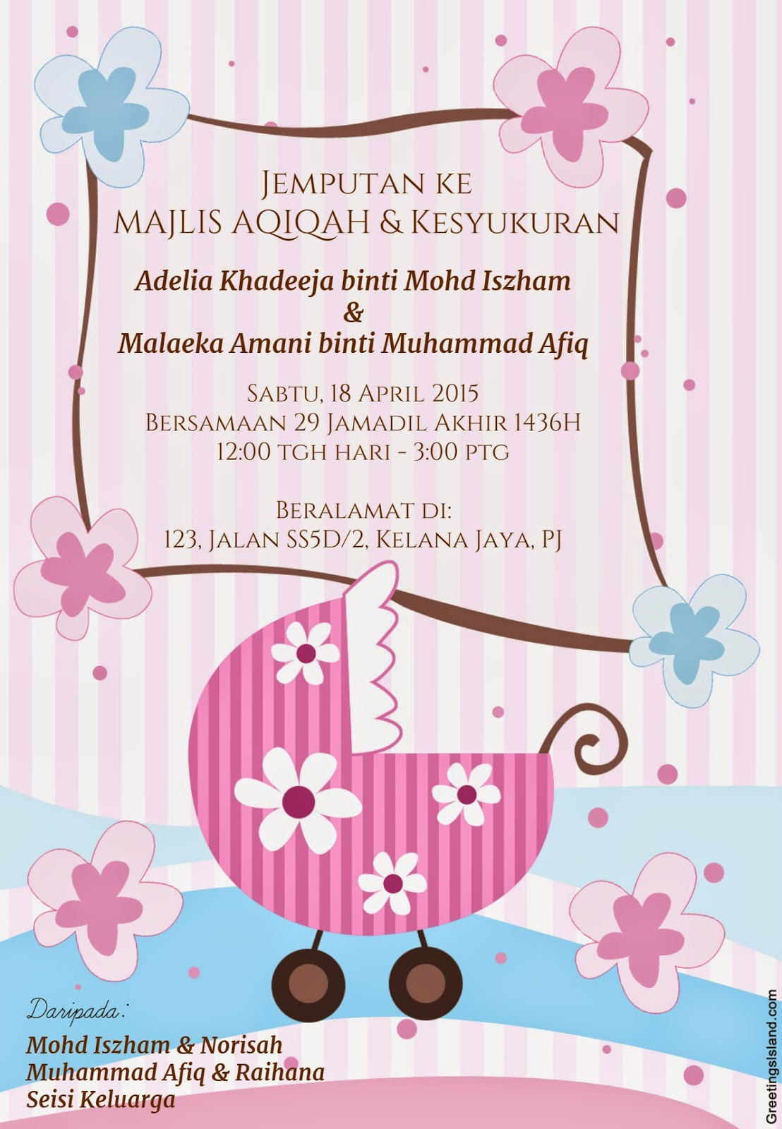 Save the date she is no longer cik laa majlis aqiqah malaeka amani stopboris Image collections
