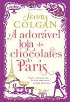a adorável loja de chocolate em Paris