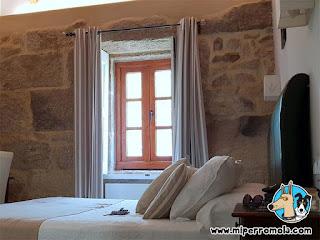 Habitaciones de la Casa Rural A Cantaruxa Maruxa