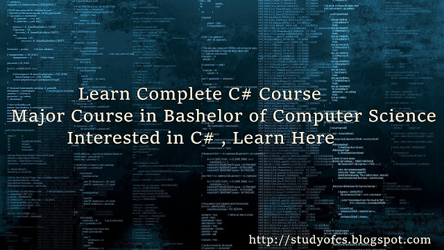 C# Programming Language Course