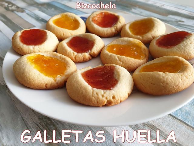 GALLETAS HUELLA CON MERMELADA : THUMBPRINT COOKIES
