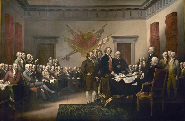 Dichiarazione d'indipendenza degli Stati Uniti ( 1776)
