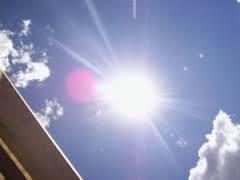 Image result for temperaturas calurosas y medio nublado en la capital dominicana