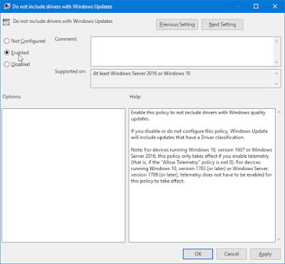 How To Stop Automatic Driver Updates in Windows 10 via Group Policy