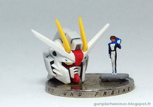 RG Real Grade Freedom Gundam Head 1/144 Kira Yamato