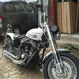 LAPAK MOGE BEKAS Harley sportster 2012