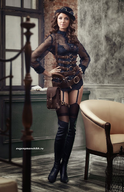 womens steampunk clothing fashion lingerie