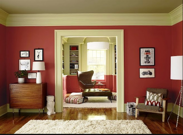 interior decorating paint colors ideas
