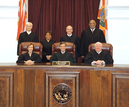 Florida Supreme Court Official Photo