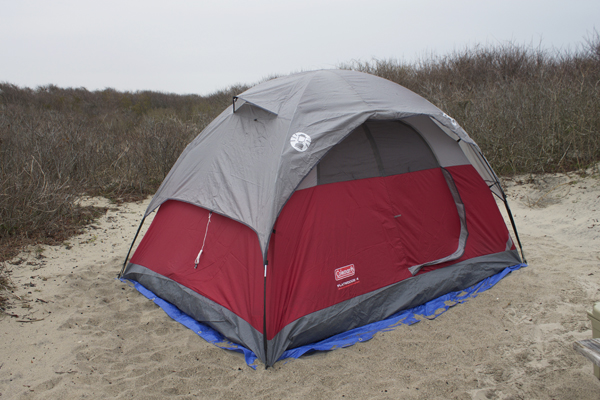 Naturally Me, Maryland, Assateague State Park, Assateague Island, Assateague Island National Seashore, Coleman tent, Coleman 4 person tent