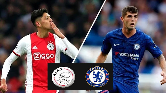 Jadwal Lengkap Liga Champions Matcday 3 Live SCTV : Ajax Amsterdam Vs Chelsea