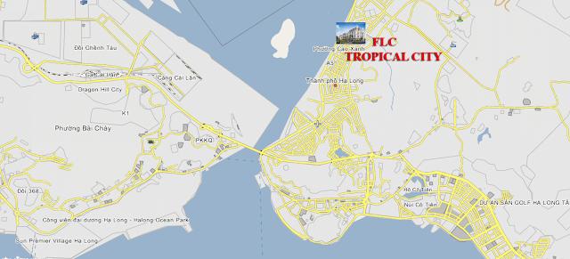 Vị trí dự án FLC Tropical City