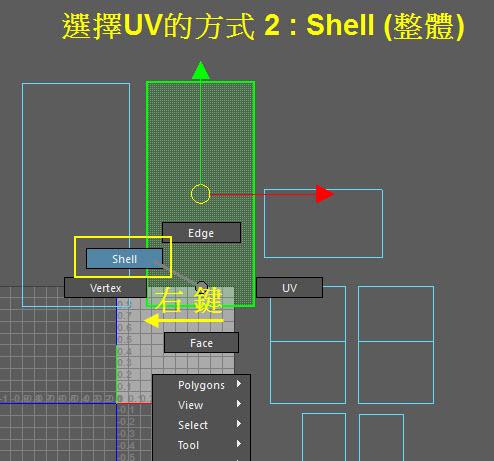 UV map 28