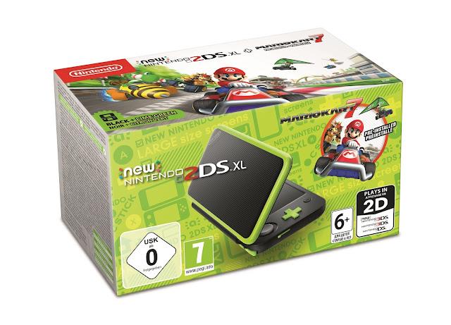 Se anuncian nuevos Nintendo Select de 3DS / 2DS y packs