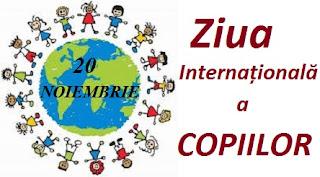 20 noiembrie: Ziua Internațională a Copiilor
