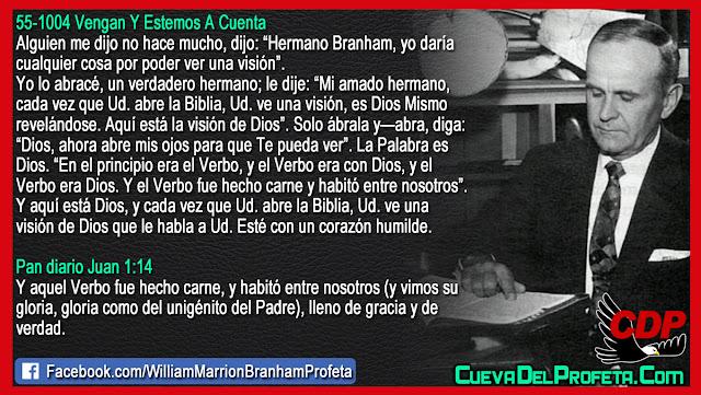 Como tener visiones de Dios - William Branham en Español
