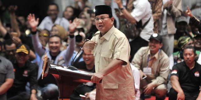 Prabowo Subianto di Hadapan 500 CEO Katakan Ingin Pergantian Kekuasaan di Indonesia Damai