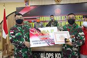 Kembali Harumkan Kodam, Pendam XII/Tpr Juara 2 LKJ TMMD