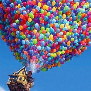 alasan balon bisa terbang