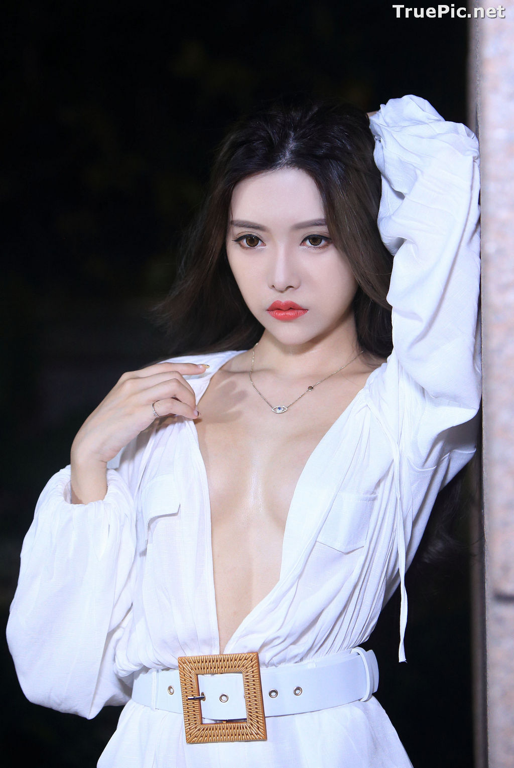 Image Taiwanese Model – 莊舒潔 (ViVi) – Sexy and Pure Baby In Night - TruePic.net - Picture-64