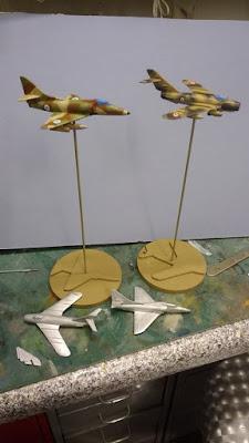 MIG 17 & A4 Skyhawk
