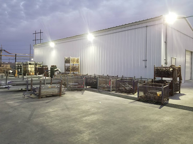 Case Sharing-New Maintenance Shop in Louisiana Petrochemical Plant_Explosion Proof Lighting_2