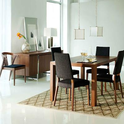 Desain ruang makan sederhana