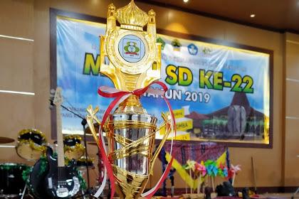 Kabupaten Wonogiri Borong 2 Piala MAPSI Provinsi Jawa Tengah - MAPSI ke 22 Tahun 2019