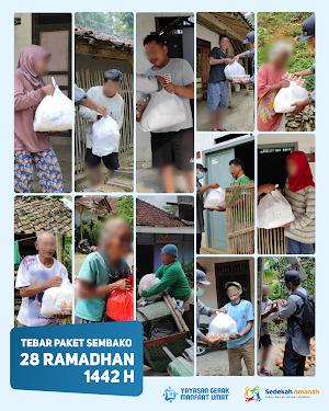 Penyaluran Sembako Ramadhan 1442 H Tahap 7