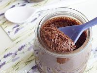 Mousse de chocolate negro