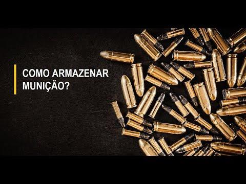 maneiras de se armazenar munição por longos períodos