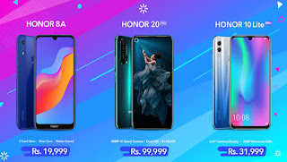 Honor Introduced These Three Stunning Smartphones in just a Month