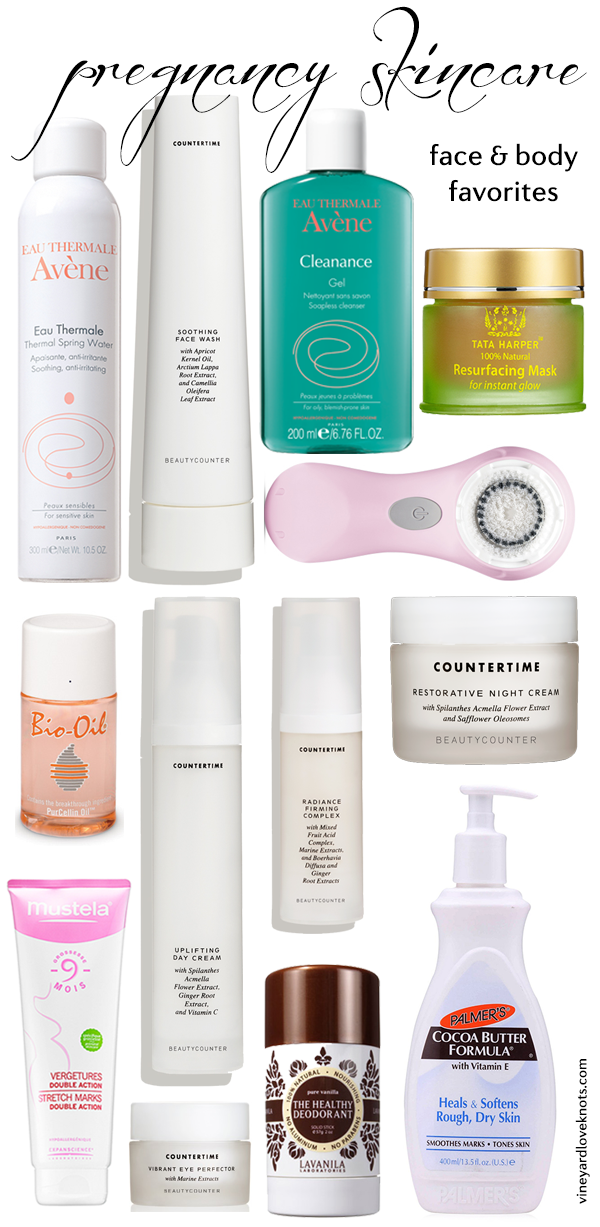 Facial products pregnancy
