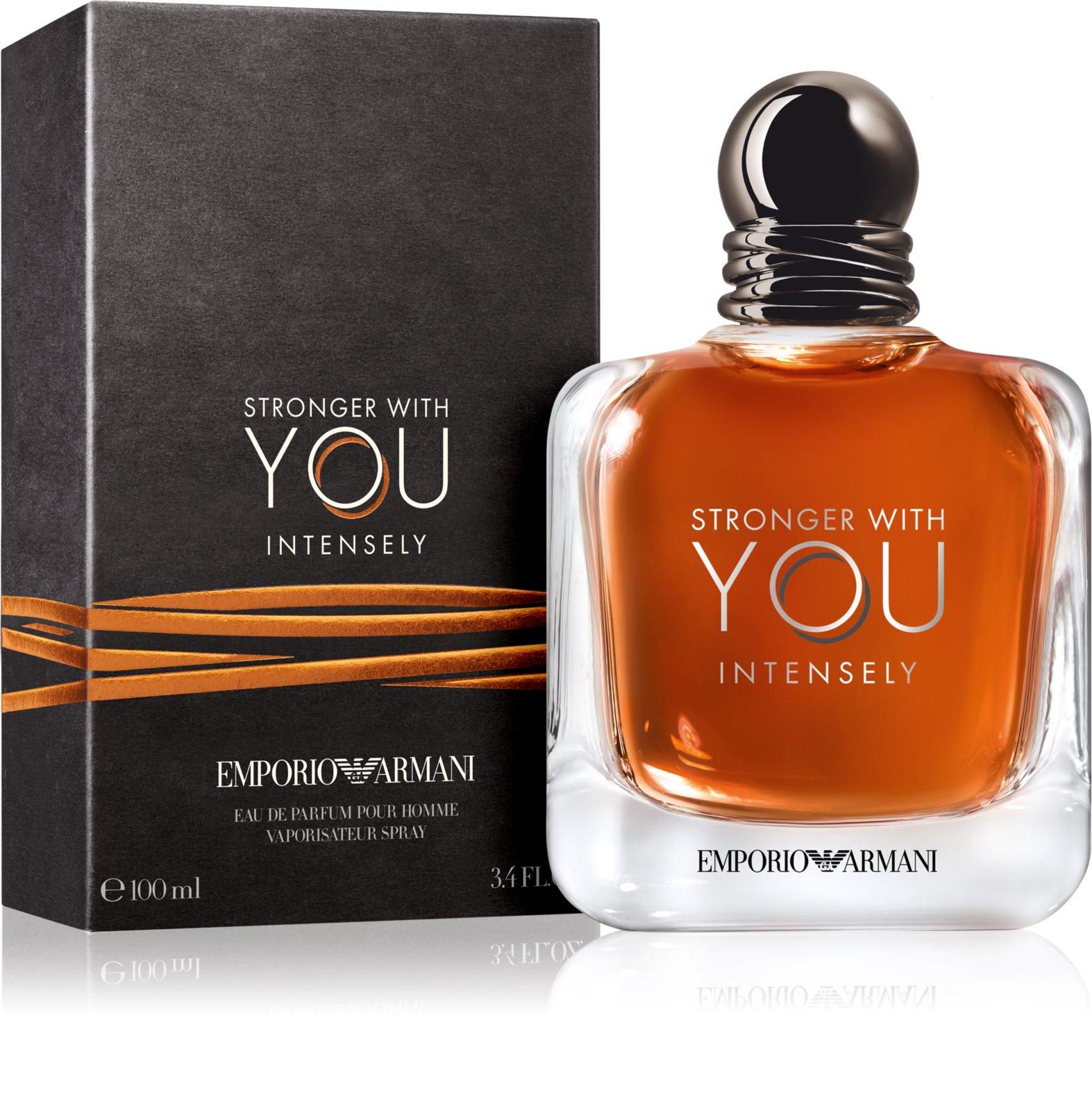 Armani Emporio Stronger With You Intensely woda perfumowana dla mężczyzn