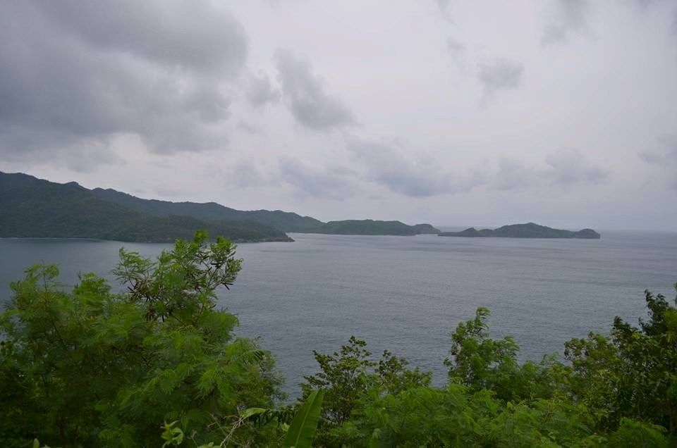 View of Patungan Cove on our way to the Pico de Loro Beach & Country Club