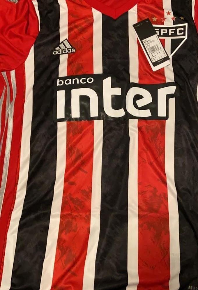 Vazam imagens da nova camisa tricolor do São Paulo; veja detalhes