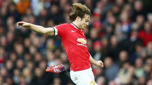 Cầu thủ Blind trong màu áo CLB M.U