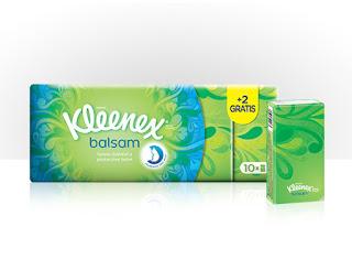 Prueba Kleenex Balsam