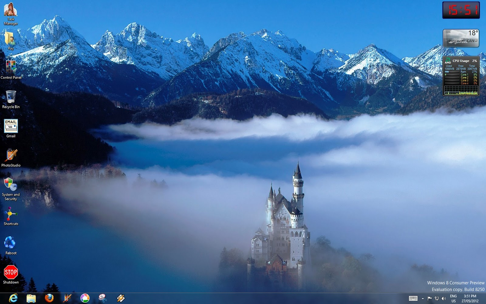 Gmail mountain theme images - I M Speaking Of Course Of The Famous Neuschwanstein Castle In Bavaria And Here Is The Shot Your Theme Should Have Used Now This Is A Castle