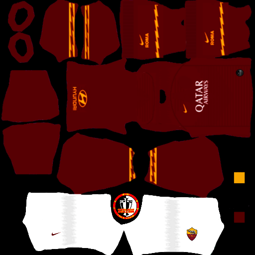 Kits AS ROMA - Dream League Soccer 2021